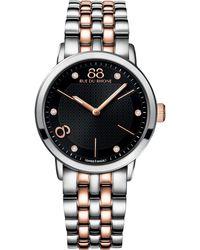 88 Rue Du Rhone | 87wa140003 Women's Stainless Steel Bracelet Strap Watch | Lyst