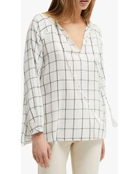 French Connection Canthemis Blouse - White