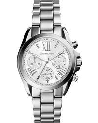 Michael Kors - Mk6174 Women's Bradshaw Chronograph Bracelet Strap Watch - Lyst