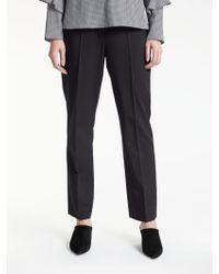 buy popular 69332 b9d35 Gerry Weber Bi-stretch Trousers in Black - Lyst