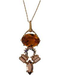 John Lewis - Cabinet Swarovski Crystal Crested Pendant - Lyst
