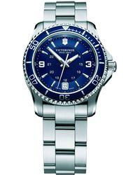 Victorinox - Women's Maverick Date Bracelet Strap Watch - Lyst