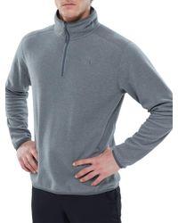 09df94dda The North Face Glacier Delta Half Zip Men's Fleece in Gray for Men ...