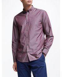 GANT - American Cotton Dobby Shirt - Lyst