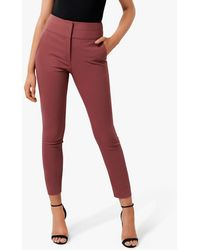 Forever New Georgia Trousers - Red