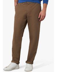 Jaeger Regular Fit Cotton Chinos - Multicolour