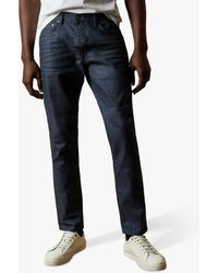 Ted Baker Tapice Tapered Leg Jeans - Blue