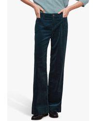 Gerard Darel Emma Cord Jeans - Green