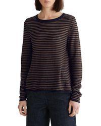 Toast - Stripe Wool Linen Jumper - Lyst