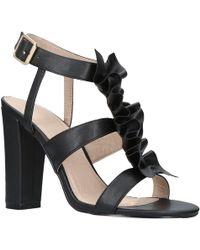 32a7cd53688e KG by Kurt Geiger - Fliss High Block Heel Strap Sandals - Lyst