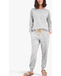 White Stuff Joy Jogger Pyjama Bottoms - Grey