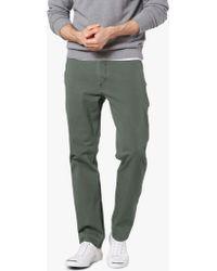 a722e56b1c34 Dockers - Alpha Khaki Smart 360 Flex Slim Tapered Trousers - Lyst