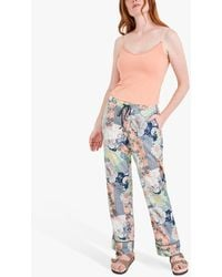 White Stuff Suri Mixed Print Pyjama Bottoms - Multicolour