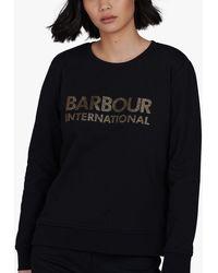 Barbour International Downforce Sweatshirt - Black
