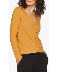 Thought Loren Organic Cotton V-neck Cardigan - Multicolour