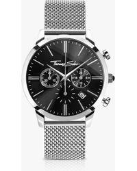 Thomas Sabo - Men's Rebel Spirit Chronograph Mesh Bracelet Strap Watch - Lyst