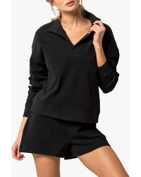 Forever New Olympia Collar Jumper - Black