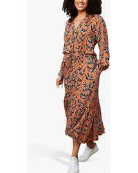 Baukjen Indiana Floral Print Shirt Dress - Multicolour