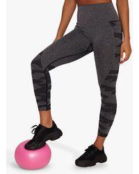 Chi Chi London Activewear Ana Leggings - Grey