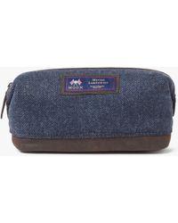 John Lewis - Made In England Moon Wool Herringbone Wash Bag - Lyst