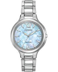 Citizen - Ep5990-50d Women's Silhouette Stainless Steel Bracelet Strap Watch - Lyst