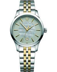 Victorinox   241753 Alliance Women's Bracelet Strap Watch   Lyst