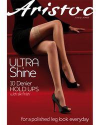 Aristoc - Ultra Shine 10 Denier Hold Ups - Lyst
