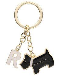 Radley - Pageant Initial Metal Keyring - Lyst