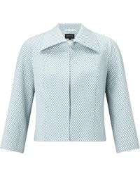 Bruce By Bruce Oldfield - Diamond Jacquard Jacket - Lyst