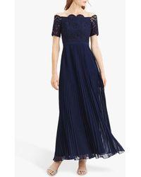 Oasis Lace Bardot Maxi Dress