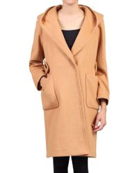Jolie Moi - Hooded Quilted Inner Coat - Lyst
