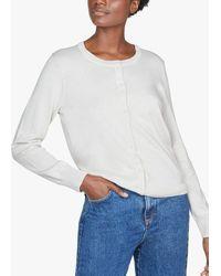 Thought Pollie Organic Cotton Button Cardigan - Multicolour