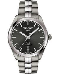 Tissot - T1014104406100 Men's Pr100 Date Bracelet Strap Watch - Lyst