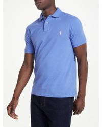 Ralph Lauren - Polo Slim Fit Weathered Polo Shirt - Lyst