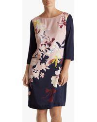 Fenn Wright Manson Jeanette Floral Shift Dress - Multicolour