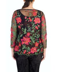 John Lewis - Chesca Scallop Trim Embroidered Jacket - Lyst