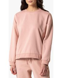 Forever New Bridie Button Sweatshirt - Pink