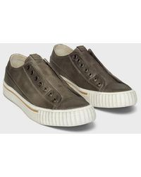 John Varvatos Handstained Vulcanized Low Top - Multicolour