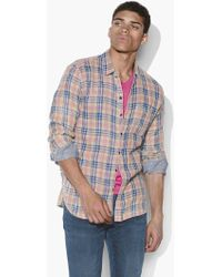 John Varvatos Neil Reversible Shirt - Multicolor