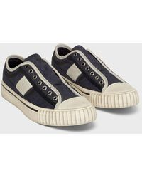 John Varvatos Patterned Low Top Trainers - Blue