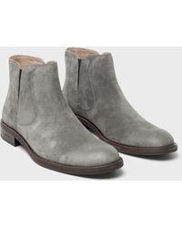 John Varvatos Waverly Chelsea Boot - Gray