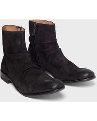 John Varvatos Morrison Sharpei Boot - Black