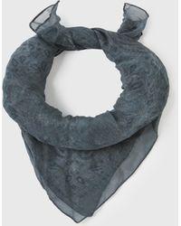 John Varvatos Cold Water Dye Bandana Scarf - Blue
