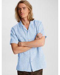 John Varvatos Benny Easy Fit Shirt - Blue