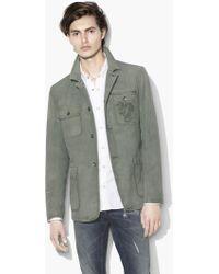 John Varvatos - Dragon Workwear Jacket - Lyst