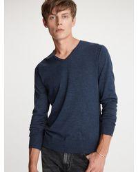 John Varvatos - Arlington V-neck Sweater - Lyst