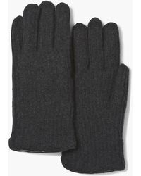 John Varvatos - Cashmere And Shearling Gloves - Lyst