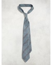 John Varvatos - Classic Contrast Stripe Tie - Lyst