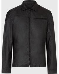 John Varvatos Jax Shirt Jacket - Black