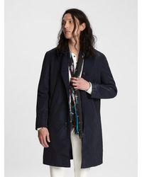 John Varvatos Reversible Coat - Blue